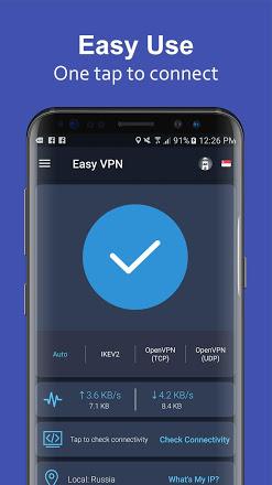 Easy VPN - VPN proxy master, super VPN shield v2.1.1 Mod quảng cáo