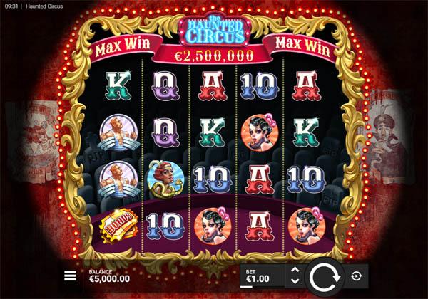 Main Gratis Slot Indonesia - Haunted Circus Hackshaw Gaming