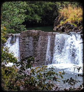 Waterfall Along the Pipiwai Trail Maui Hawaii