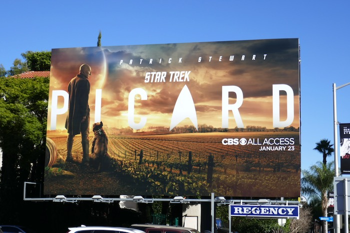 Star Trek Picard series billboard