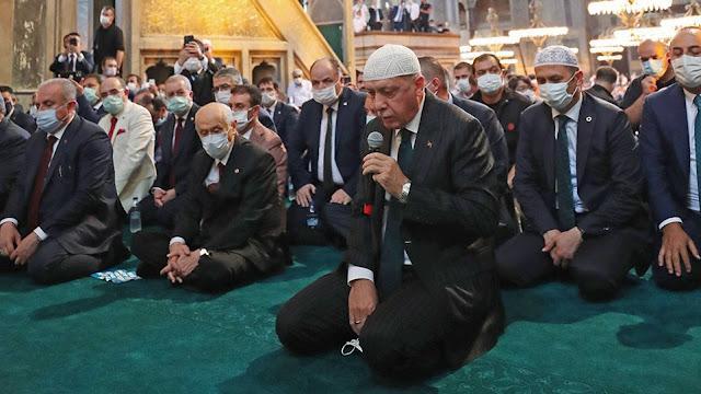 Θεομπαιχτικό καταφύγιο του Ερντογάν στον Αλλάχ!