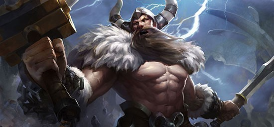 Ormarr là một trong vị tướng mạnh, có sức sát thương cao cùng chịu đòn hay