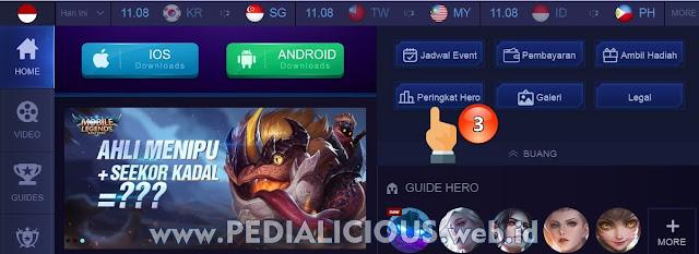 Kunjungi situs resmi Mobile Legends: Bang Bang