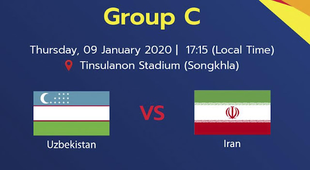 Live Streaming Uzbekistan vs Iran AFC U23 (9.1.2020)