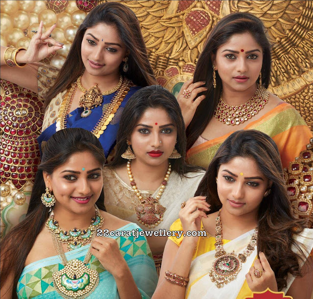 Actresses at Jewels Of India 2019 Bangalore