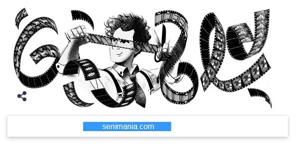 Logo Ulang Tahun Sergei Eisenstein ke-120 Oleh Google Doodle Serta Film Alexander Nevsky