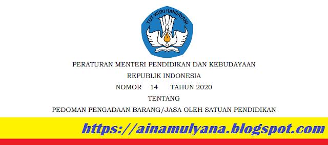 Permendikbud Nomor 14 Tahun 2020