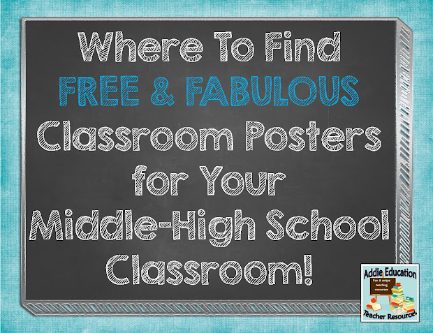 Middle School Classroom Ideas