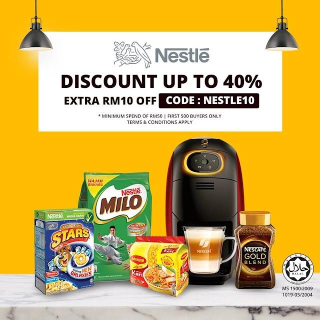 Nestlé Targets RM1 Million In Sales On Shopee