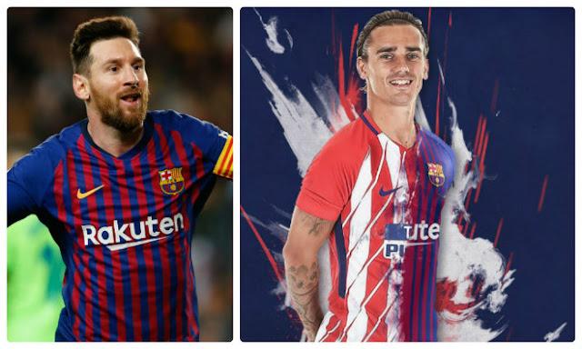 """Barca dụ Griezmann lương """"siêu to khổng lồ"""": Dưới Messi trên vạn người"""