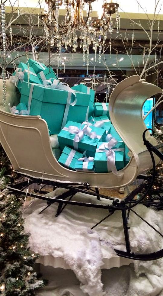 Tiffany Gifts in Sleigh