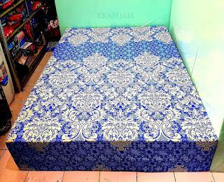 Kasur inoac motif batik pandawa biru