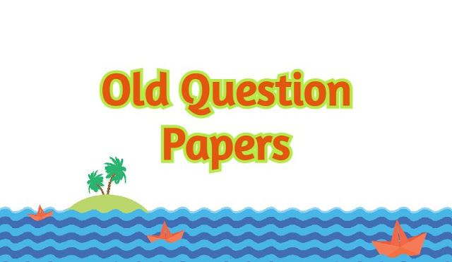 Old-question-papers
