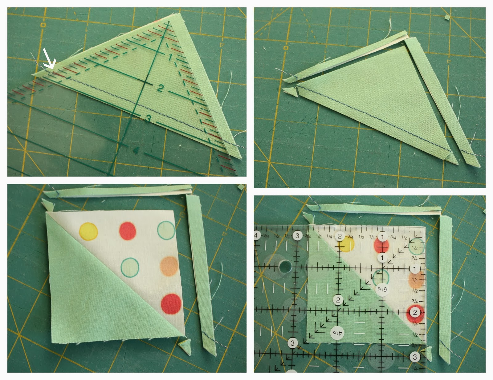 Half Square Triangle Short Cuts : squaring up quilt blocks - Adamdwight.com