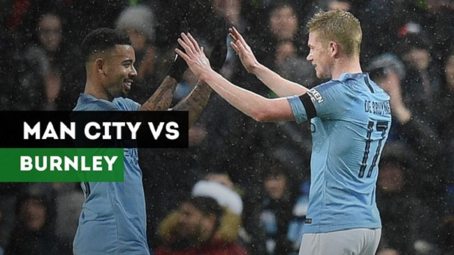 Cuplikan Gol Manchester City vs Burnley 5-0 Pada Piala FA