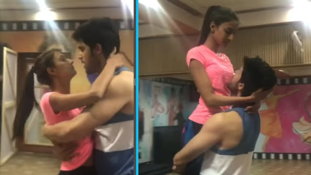 WATCH VIDEO: Parth Samthaan and Erica Fernandes dance to a romantic Shah Rukh Khan song