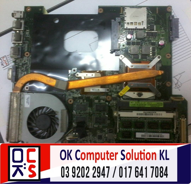 [SOLVED] SERVIS LAPTOP ASUS A42J | REPAIR LAPTOP DESA PANDAN 1