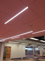 picture of LED lighting strips