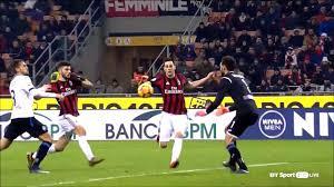 مشاهدة مباراة ميلان واتلانتا بث مباشر اليوم 22-12-2019 في الدوري الايطالي