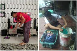Rumah Tangga Akan Terasa Indah Jika Suami Ikut Membantu Pekerjaan Rumah