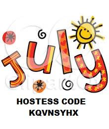 JULY 2021 HOSTESS CODE