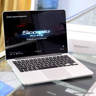 Jual Macbook Pro Retina Core i5 2015 Fullset - Banyuwangi