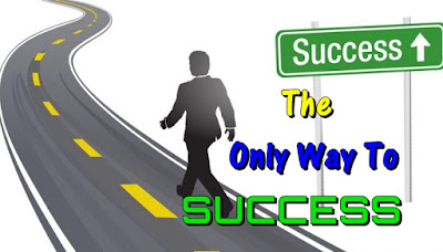 THE ONLY WAY TO SUCCESS - Motivational