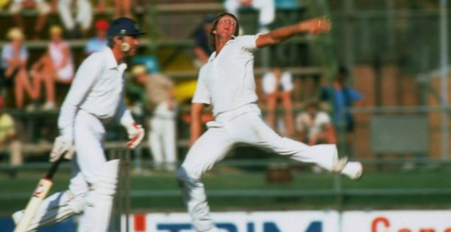 Jeff Thomson Fastest Cricket bowler in 1976