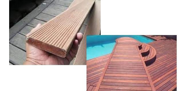 decking kayu ulin