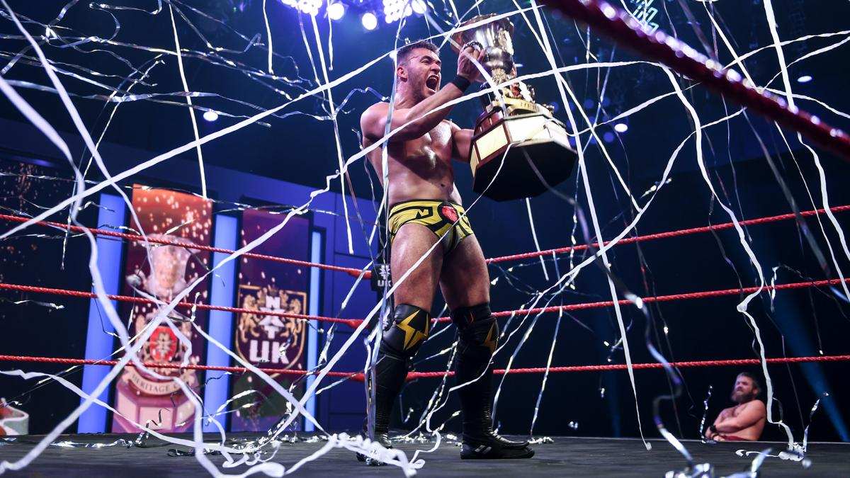A-Kid wins the WWE NXT UK Heritage Cup Championship