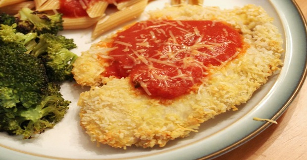 Oven-Fried Parmesan-Panko Crusted Tilapia Recipe