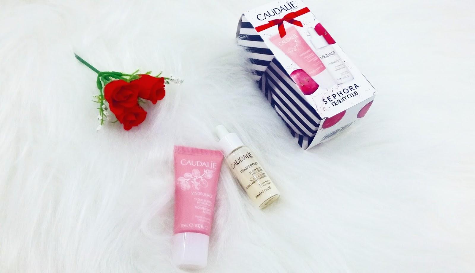 Presente de Aniversário Sephora Beauty Club Caudalie
