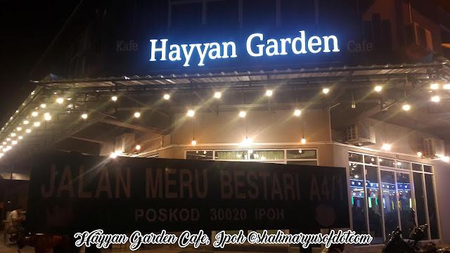 Layan Nasi Arab Di Hayyan Garden Cafe Ipoh, Perak
