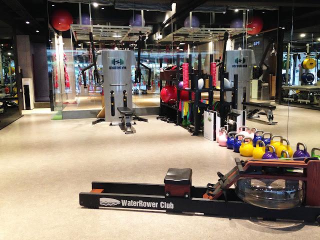 台北松山區-ENERGYM-正位瑜珈-紅繩懸吊-redcord-划船機-皮拉提斯-pilates-彼拉提斯