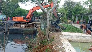Normalisasi Kali Bongsang Dulgani Antara Dua Desa, Diduga Proyek Siluman