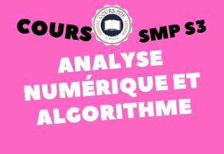 Analyse Numérique & Algorithmique SMP S3 - cours / td & exercices / examens / résumés [PDF]