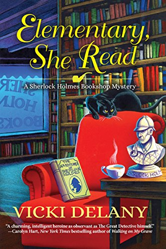 Elementary, She Read, by Vicki Delany