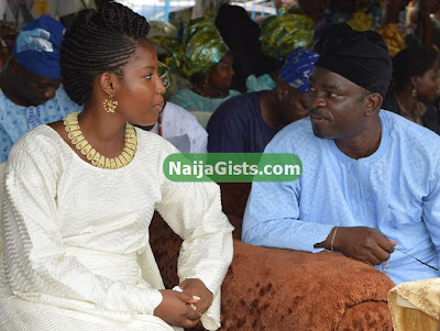 hon rotimi makinde wedding