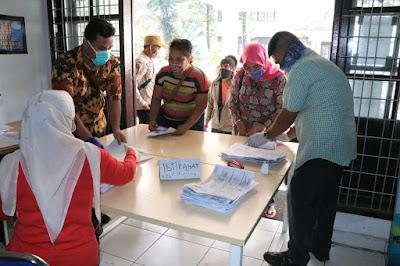 Kuota penerima BST di Medan