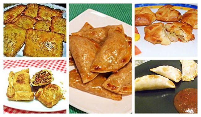 5 recetas fáciles de empanadillas