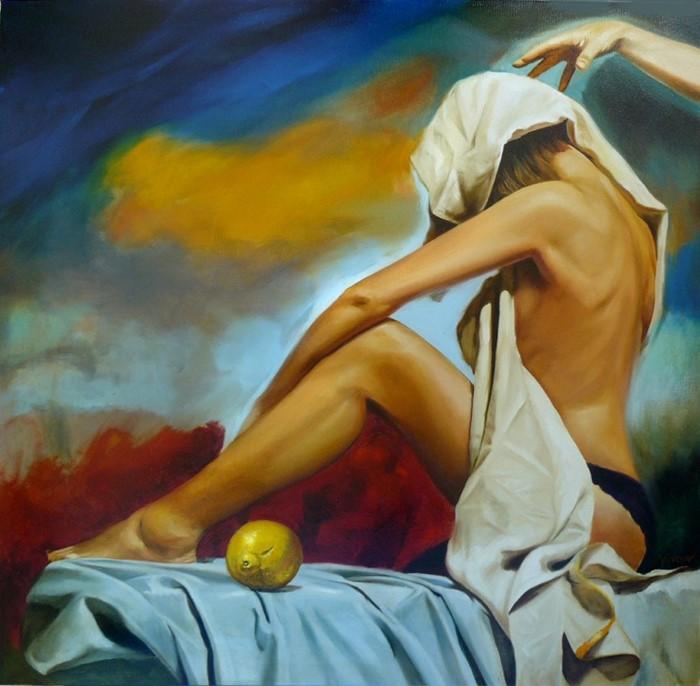 Болгарский художник-сюрреалист. Miro Yotov