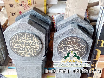 Nisan Kuburan Batu Alam