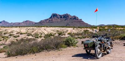 Uraling the Sandy Dunes of Hot Well Dunes Recreation Area