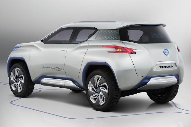 Nissan TeRRA SUV Concept 2012 back