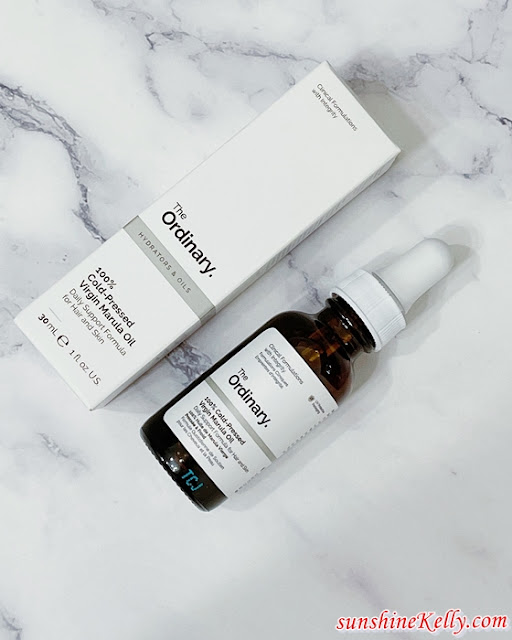Beauty Review, The Ordinary, 100% COld-Pressed Virgin Marula Oil, Multi-Peptide Serum Hair Density, Haircare, Threebs, Review, The Ordinary, Beauty