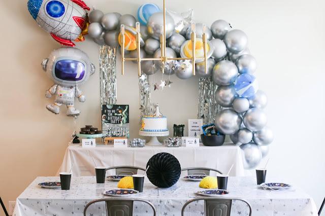 Space Party Decoration Ideas