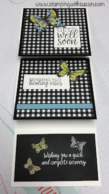 Stampin' Up! Layering Fold Card, www.stampingwithsusan.com, Fun Fold, Botanical Butterfly