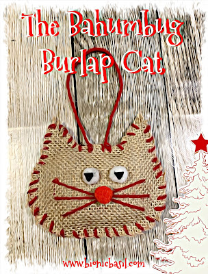 Crafting with Cats Catmas Special - Part 2 ©BionicBasil® Grumpy Burlap Cat Tree Decoration