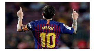 Messi confirms his stay at Barcelona for another one year