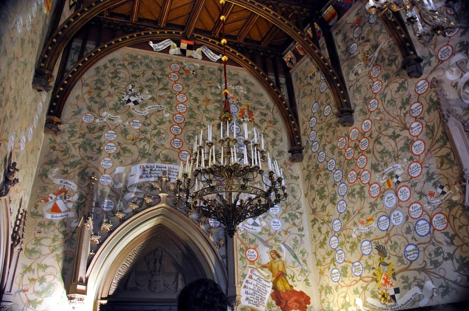 Family Tree Murals For Walls Keep Smiling Hohenzollern Castle Baden W 252 Rttemberg